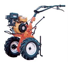 Picture of TRACTOR MINOS WITH MITSUBISHI 6 HP ENGINE 2 SPEEDS - WITH WHEELS