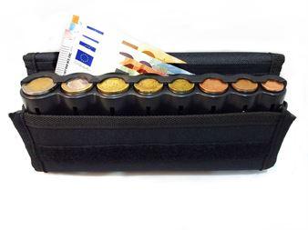 Picture of EUROCASH 01PL - Επαγγελματικό πορτοφόλι και κερματοθήκη εισπράκτορα 8 θέσεων πλαστική