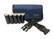 Picture of Eurocash PW 5 Blue - Επαγγελματικό τσαντάκι μέσης και κερματοθήκη εισπράκτορα 5 θέσεων με μεταλλική μπάρα συγκράτησης νοσμισμάτων