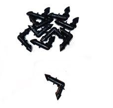 Εικόνα της Γωνία Φις mini Eurodrip Φ6 x Φ6 - 10 τεμάχια