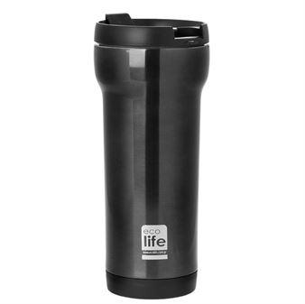 Εικόνα της Ανοξείδωτο θερμός για καφέ ECOlife Black 420ml