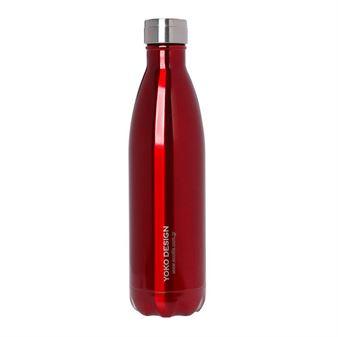Εικόνα της Ανοξείδωτο μπουκάλι Θερμός ECOlife Red - Yoko Design (Limited Edition) 750ml