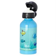Εικόνα της Ανοξείδωτο παιδικό μπουκάλι ECOlife Fish 500ml
